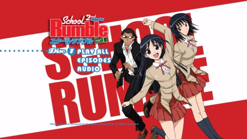 menu-dvd-school-rumble-2nd-disk-1-funimation